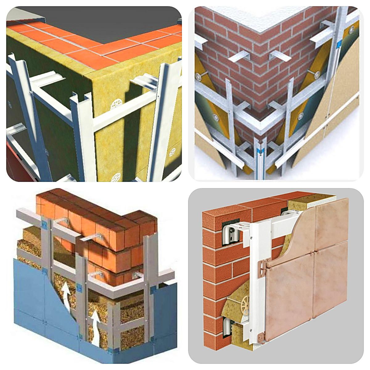 Горизонтально-вертикальная фасадная система