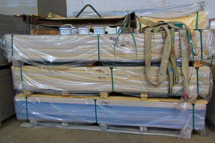 Хранение фиброцементных, хризотилцементных, асбестоцементных фасадных панелей.