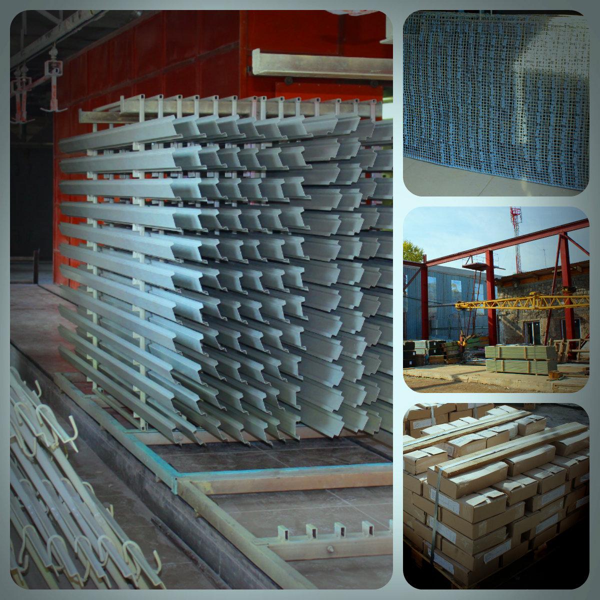Производство фасадных систем, профилей, кронштейнов, кляммеров